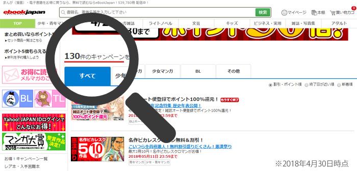 eBookJapanのキャンペーンがおすすめの理由